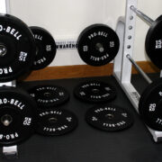 150Kg Pro Bell Olympic Rubber Bumper Plates