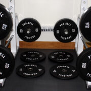 150Kg Pro Bell Rubber Bumper Plates