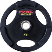 15Kg Urethane Olympic Plate with handles
