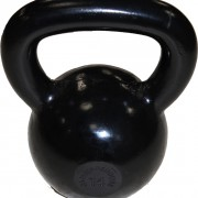 Black Polished Rubber BAse Indervidual Kettlerbell Gymwarehouse