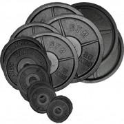 Cast Oly Plate Set – 157.5Kg