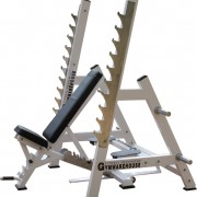 Commercial Ultra Versatile Bench Rack System 1
