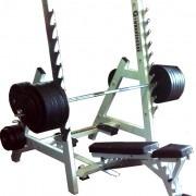 Commercial Ultra Versatile Bench Rack System 10