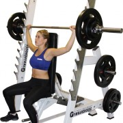 Commercial Ultra Versatile Bench Rack System 15