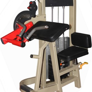 Dual Purpose Arm Curl , Arm Extension Machine Commercial
