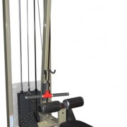 Dual Purpose Lat Pull Down, Pulley Row Commercial