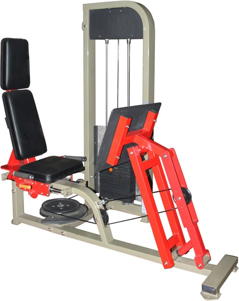 Dual Purpose Leg Press , Calf MAchine Commercial