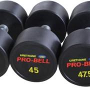 Gym Grade Pro-Bell USC Urethan Dumbbell Gymwarehouse