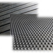 Hard Rubber Matting White