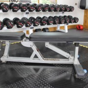 Adjustable Flat to Incline Gym Bench