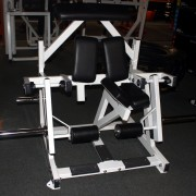 Kneeling Plate Loaded Leg Curl