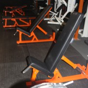 Auto Adjustable Gym Bench Orange