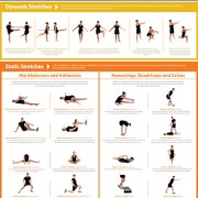 Poster  Lower Body Stretching