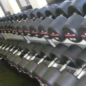 Pro-Bell Rubber Dumbbells 2.5-60Kg gymwarehouse