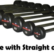 RDL Barbell Straight or EZ Gymwarehouse