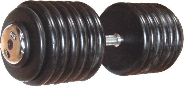 Rubber Plate Dumbells