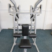 Wide Plate Loaded Lat Pull Down 2