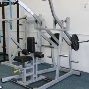 Wide Plate Loaded Lat Pull Down 4