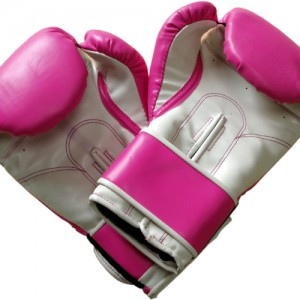 Pink Gym Boxing Mitts