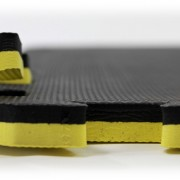 yellow and black martial arts mats Gymwarehouse 2