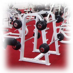 Extra Large Gym Barbell Rack