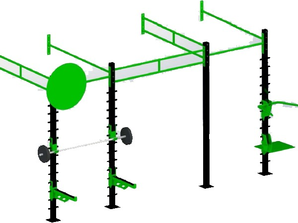 Medium Wall Mounted Gym Training Rig