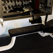 Commercial Ab Crunch Bench