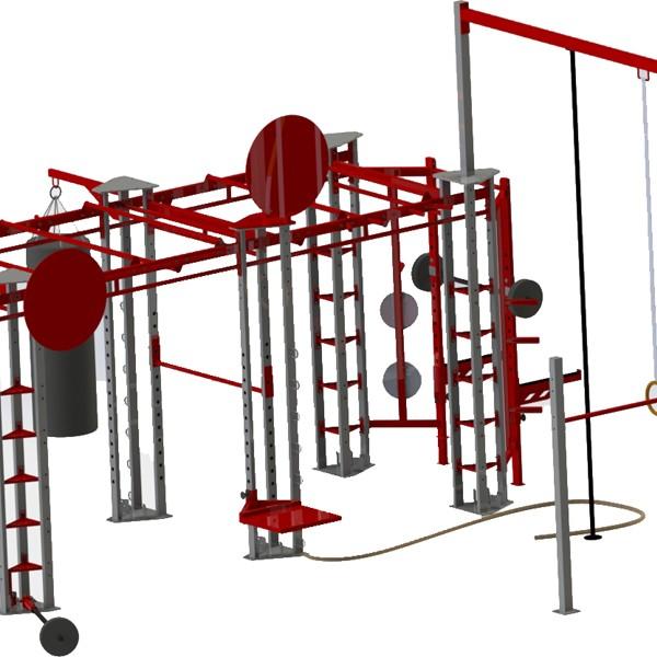 Extra Large Gym Rig