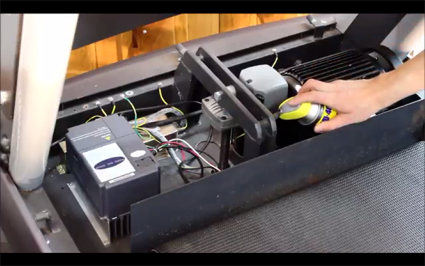 Treadmill Maintenance and Service Including Belt Lubrication