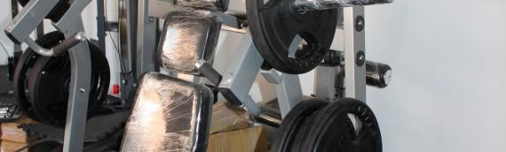 Dual Purpose Gym Equipment.