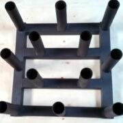 12 Piece Oly Bar Rack